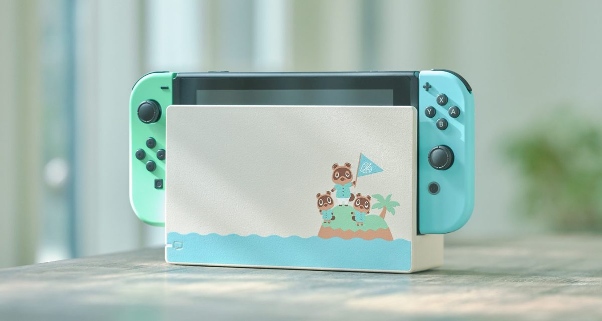 Animal Crossing: New Horizons Themed Switch Finally Announced